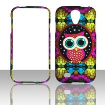 Colorful Owl Samsung Galaxy S 4 Case Cover Phone Cover Cases Protector F... - $9.99