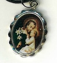 Necklace - San Jose Medal & Holy Card image 2