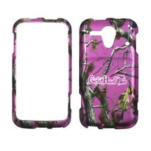 2D Pink Camo GHT Pine Kyocera Hydro Edge C5215 Boost Mobile. Sprint Case... - $9.99