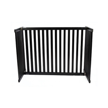 Dynamic Accents Free Standing Pet Gate - Large Tall/Black 961-42302 - $229.00