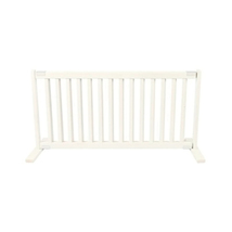 Dynamic Accents Free Standing Pet Gate - Large/Warm White 961-42102 - $130.00