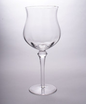 Crystal Balloon Goblet Imported from Romania Cathy Collection 94090 - $55.00