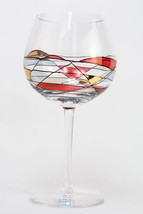 Crystal Balloon Goblet Imported from Romania part of the Milano Noir 530N - $105.00