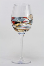 Crystal OS Red Wine Glass Imported from Romania... - $105.00
