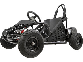 1000 Watt Electric Off Road Go Kart with 3 Speed Control + Speeds Up To 20 MPH  - $819.00