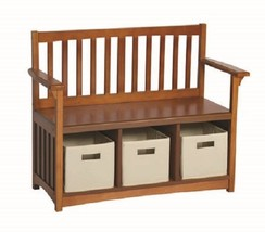 Classic Storage Bench with Baskets - $169.00+