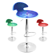 LumiSource Spyra Bar Stools Multi-Colored LED Light Up Glow - $205.00