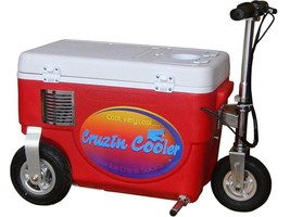 Cruzin Cooler Cooler Scooter 1000w Red   - ₨54,168.09 INR