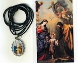 Necklace   sagrada familia medal   holy card h125.1092fa 001 thumb155 crop