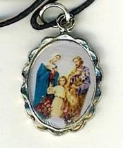 Necklace - Sagrada Familia Medal & Holy Card - LH125.1092FA image 2