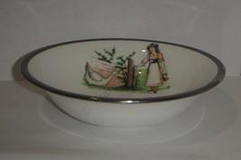 Aynsley baby bowl nursery rhyme feeding dish image 1