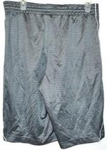 Nike Layup Men's Gray Basketball Athletic Swoosh Shorts Size M image 2