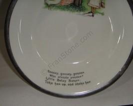 Aynsley baby bowl nursery rhyme feeding dish image 3