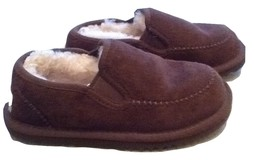 UGG Australia dark brown slippers kids size 13 - $28.00
