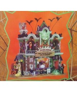 Lemax Spooky Town Heebie-Jeebie's Rock Club Music Bar Exterior Lighted B... - $79.99
