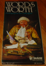 Words Worth Word Game 1975 Invicta Makers Of Master Mind Complete Excellent - $30.00