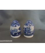"Spode Blue Italian Salt and Pepper Set 3"", Excellent Condition - $30.00"