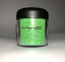 Mac Crystalled Lime Glitter Pigment Full Size New No Box Very Rare 7.5g - $39.99