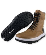 Under Armour Boots 9 Mens Fat Tire Sherpa Brown Sugar Hiking Shoes 30206... - $149.95