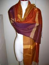 weaved shawl,wrap mix Babyalpaca wool and Silk - $94.00