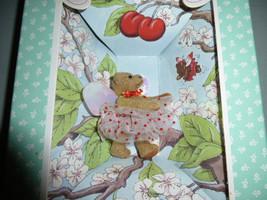Vintage Gund The Littlest Bears Cherry Tree Faierie Tiny Fairy Bear Mini... - $20.00