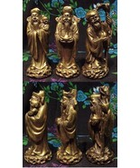 "Bronze Set of 3 Statues of the Wisemen 4"" tall - $83.65 CAD"