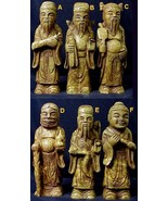 Stone Temple Wisemen Statues - Each one different - One Only of Each! - $155.40 CAD