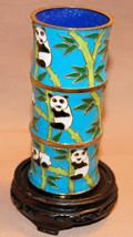 Cloisonne Cups w/Panda Painting - $8.06