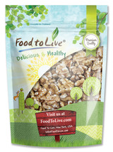 Food To Live Walnuts (Raw, No Shell) (2.5 Pounds) - $30.93