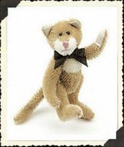"Boyds Bear ""Lindbergh Cattington"" #590087-03-Mini Mohair 4.5""-New-Wrong ... - $15.99"