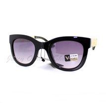 Womens Fashion Sunglasses Vintage Floral Design Metal Temple - $8.95