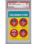 Pete Rose 1963 Topps #537 Rookie Card PSA 5 EX - $899.00