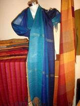 Weaved colorful shawl, mix Babyalpaca wool and Silk - $89.00