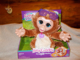 FurReal Friends Baby Cuddles My giggling Monkey Pet - $24.99