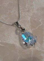 Swarovski Crystal Element Baroque Pendant 22 MM... - $7.81