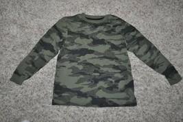 GUC-Boys Old Navy Green Camoflauge Crewneck Long Sleeve Shirt-size 8 - $4.95