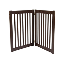 Dynamic Accents Two Panel EZ Pet Gate - Large/Mahogany 961-42222 - $149.00