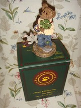 Boyds Bearstone Chance O'Sullivan... Feelin' Lucky - $15.99