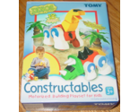 CONSTRUCTABLES DINOS 18 CHUNKY PCS MOTORIZED BUILDING PLAYSET FOR KIDS 2003 TOMY