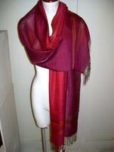 weaved shawl,mix of Babyalpaca wool and Silk wrap - $89.00