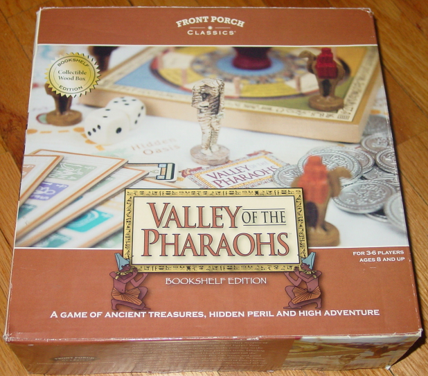 Primary image for VALLEY OF THE PHARAOHS BOOKSHELF EDITION GAME FRONT PORCH CLASSICS COMPLETE EXCE