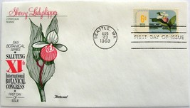 August 23, 1969 First Day of Issue, Fleetwood Cover, Botanical Congress #12 - $2.94