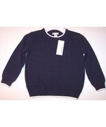 NWT Greendog Boy's Navy Crewneck Knit Sweater, 3/3T, $30 - $9.99