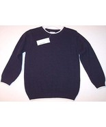 NWT Greendog Boys LS Navy 100% Cotton Crewneck ... - $9.99