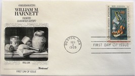 December 3, 1969 First Day of Issue, Fleetwood Cover, William M. Harnett... - $2.49