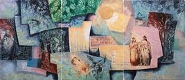 "Mikulas Kravjansky ""Romeo & Juliet"" Triptych 19... - $500.00"