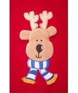 NWT All Mine Red Fleece Holiday Christmas Reind... - $13.99