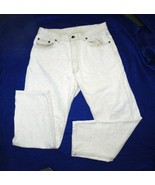 "Calvin Klein Sz 32"" x 28"" Light Tan Jeans Made in USA - $15.99"