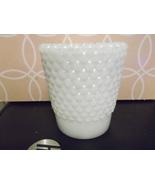Milk Glass Hobnail Votive Holder - $10.00