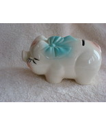 Small Ceramic Vintage Piggy Bank - $20.00